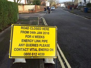 Road closing - All Saints' Road
