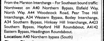 A40 closure diversion details