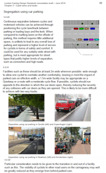 Cycle lanes and parking - Transport for London