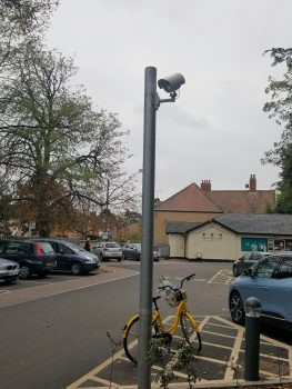 Number plate camera