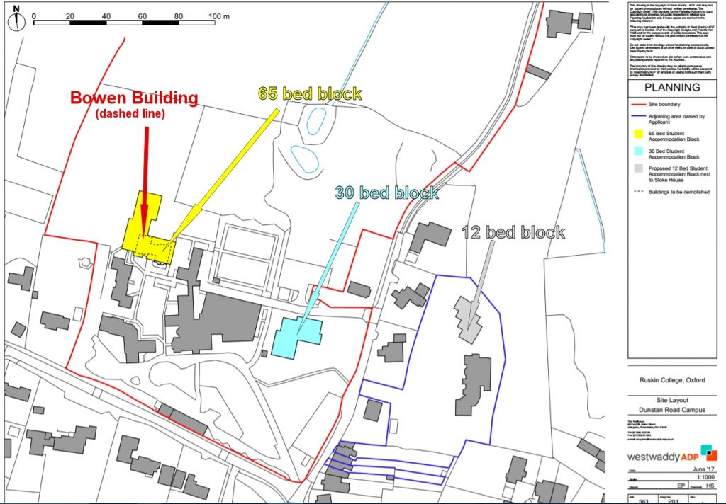 Ruskin College student accommodation plans